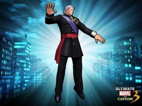 Magneto rey Capcom