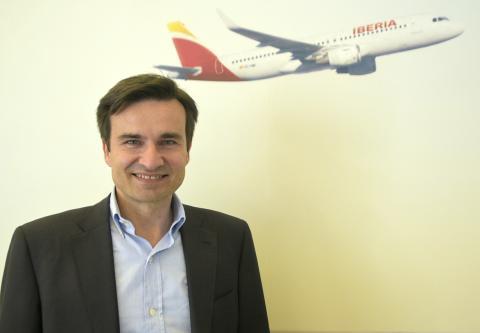 El actual presidente y CEO de Vueling y ex director comercial de Iberia, Marco Sansavini.