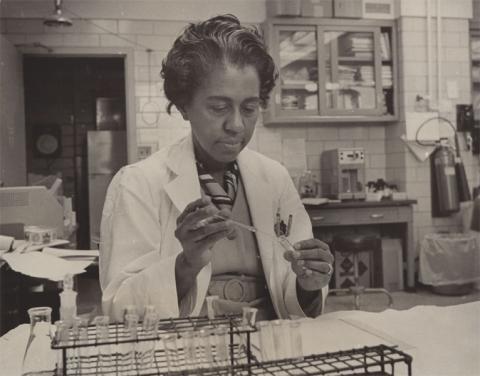 Marie Maynard Daly, en 1960.
