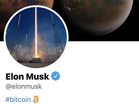 Perfil de Twitter de Elon Musk