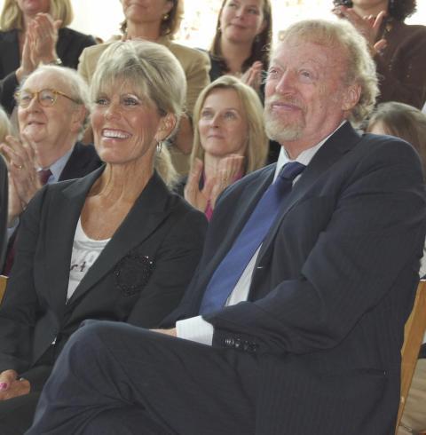 Philip y Penelope Knight