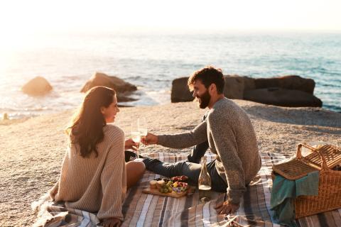 Picnic romántico.