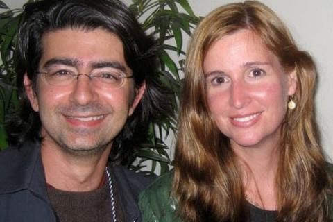 Pierre y Pam Omidyar