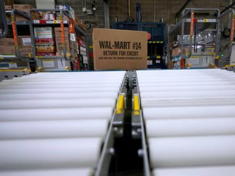Walmart es uno de los grandes rivales de Amazon en EEUU.