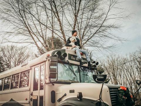 Después de la graduación, Brackney planea vivir una vida nómada.