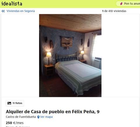 Segovia– 250 euros