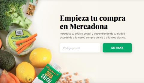 Sitio web Mercadona