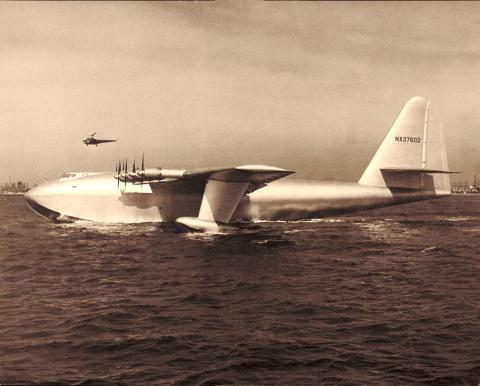 Spruce Goose avion