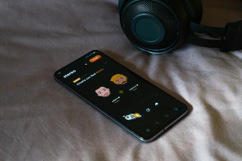 Stereo App en reproducción