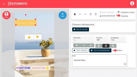 Storrito permite editar y programar historias de Instagram