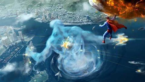 Superman artwork