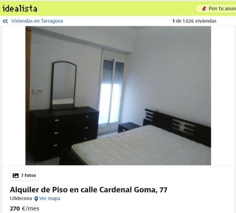 Tarragona – 270 euros