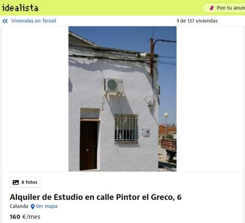 Teruel– 160 euros