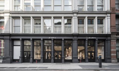 Tienda Zara en Nueva York