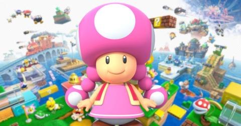 Toadette Super Mario 3D World
