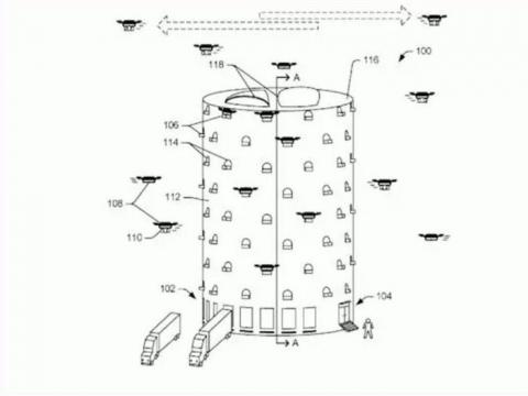Torre de drones Amazon
