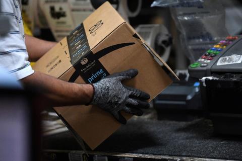 Trabajador de Amazon en Baltimore (EEUU)