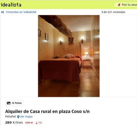 Valladolid – 280 euros