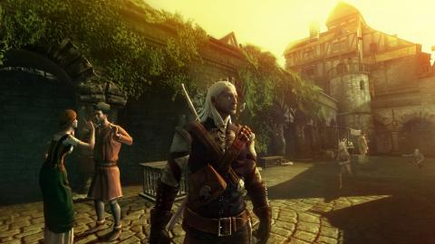 Witcher Rise of the White Wolf