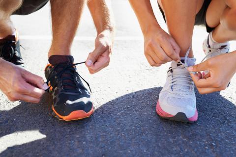 Zapatillas de correr.