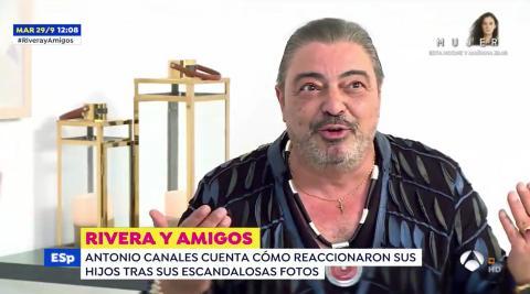 Antonio Canales en su reciente entrevista en Espejo Público (Twitter – Espejo Público)