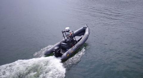 Barco autónomo de UTEK.