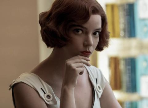 Ana Taylor-Joy en 'Gambito de Dama'
