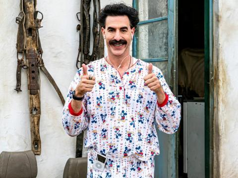 Sacha Baron Cohen en 'Borat Subsequent Moviefilm.