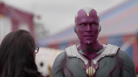 Paul Bettany en el episodio 7 de 'Wandavision'.