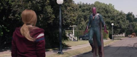 Paul Bettany en el episodio 9 de 'Wandavision'