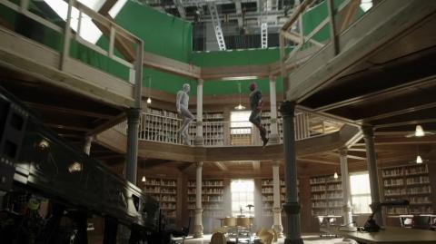 Paul Bettany en el episodio final de 'Wandavision'.