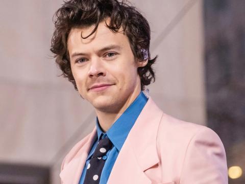 Harry Styles en febrero de 2020.