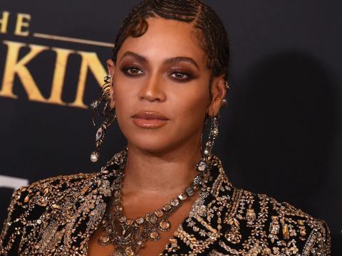 Beyoncé en julio de 2019.