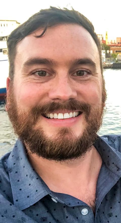 Zach Dunn, ingeniero de SpaceX, actualmente trabaja en la startup Relativity Space. Zachary Dunn/Relativity Space
