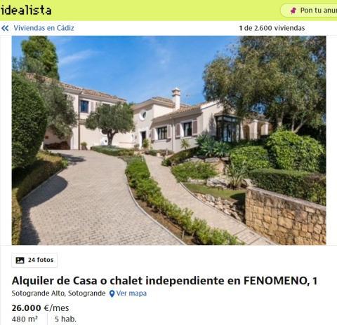 Cádiz - 26000 euros