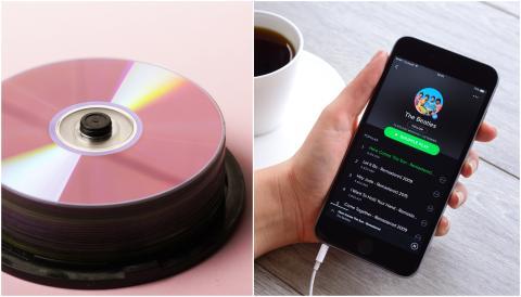 CD vs. Spotify