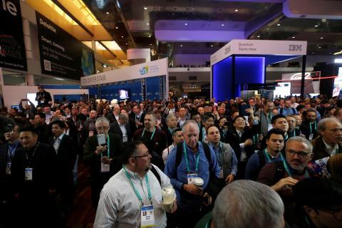 Centro de Convenciones de Las Vegas durante el CES 2020 en Las Vegas.