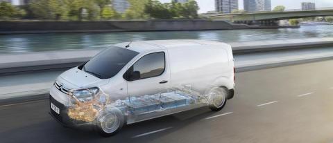 Citroën ë-Jumpy motor eléctrico
