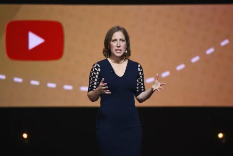 La consejera delegada de YouTube, Susan Wojcicki