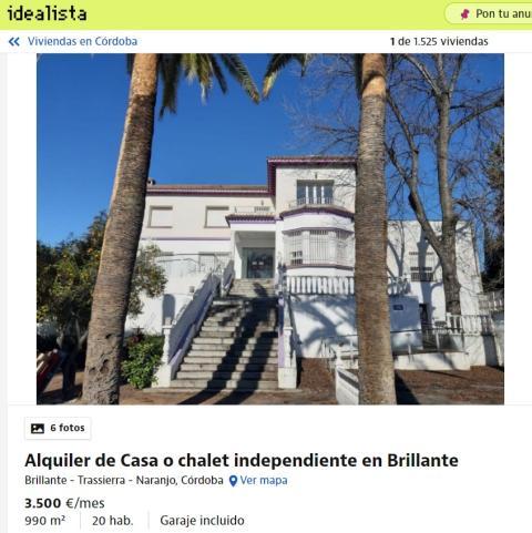 Córdoba – 3500 euros