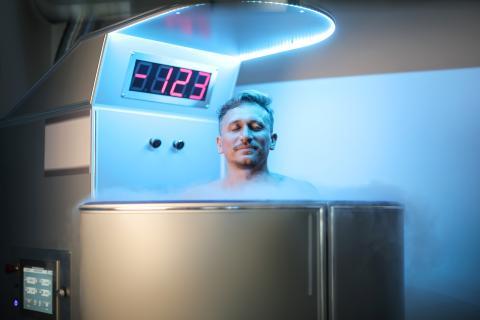 El proceso de criogenización se realiza a temperaturas inferiores a los 120 grados bajo cero.
