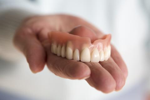 Dentadura postiza.