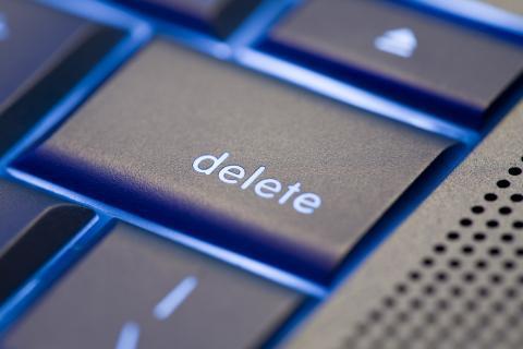 eliminar tecla ordenador