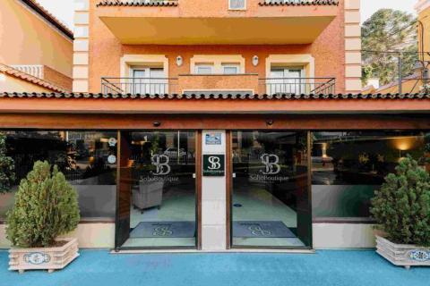 Entrada de un establecimiento de Soho Boutique Hotels