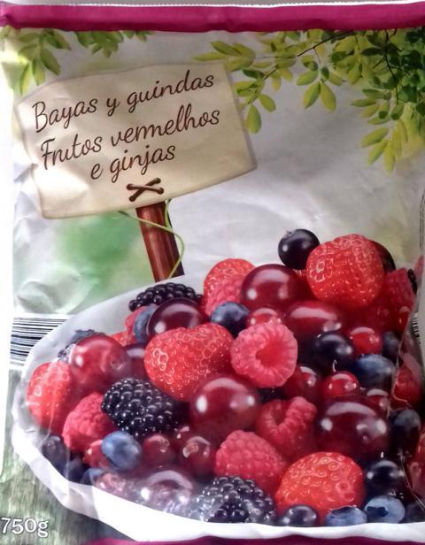 Frutos rojos de Lidl