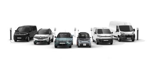 Gama electrificación Citroën