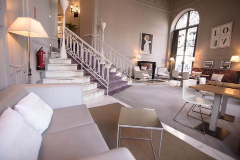 Habitación del Hotel Petit Palace Savoy Alfonso XII de Madrid, del grupo Hotelatelier