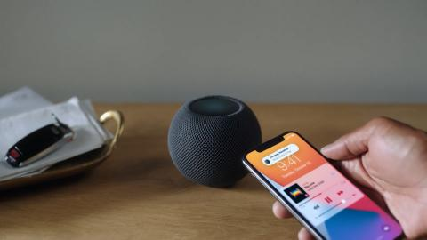 HomePod mini con iPhone