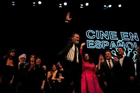 Una imagen de la gala de los Goya 2021.