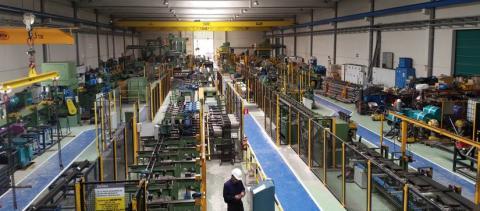 Instalaciones de Rugui Steel en Ólvega (Soria)